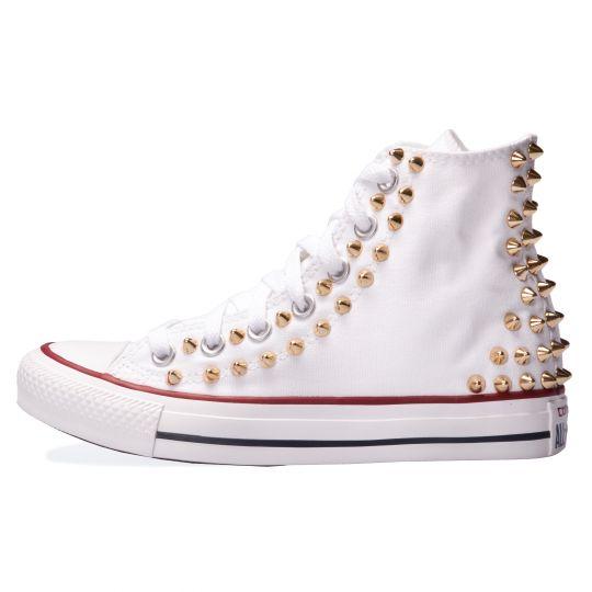 all star hi BACK GOLD WHITE xx