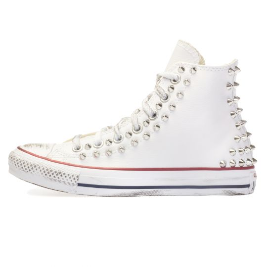 all star WHITE PELLE