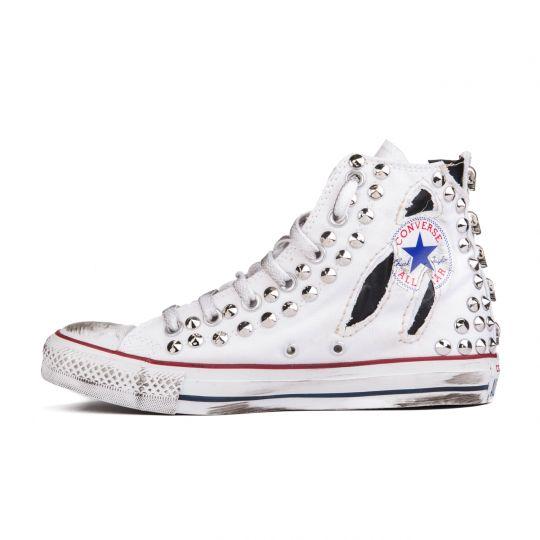 all star hi PUNK SKULL xx