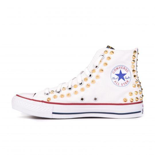 all star hi FLOWER WHITE xx