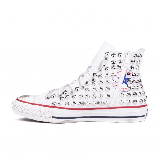 all star WHITE ZIP