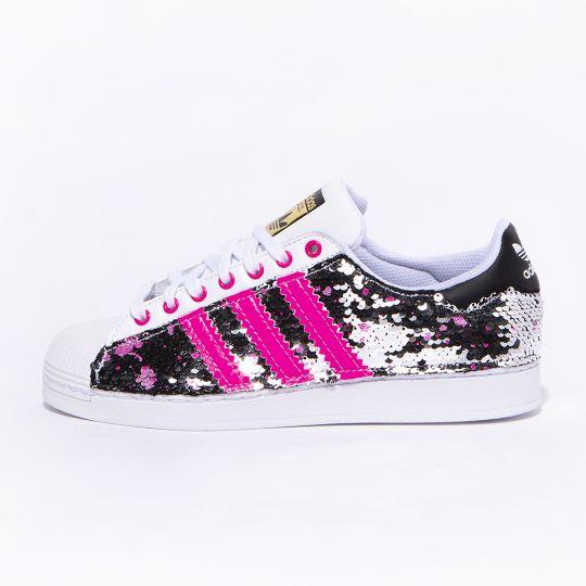Adidas Superstar Dmc Neon Drip Paillettes
