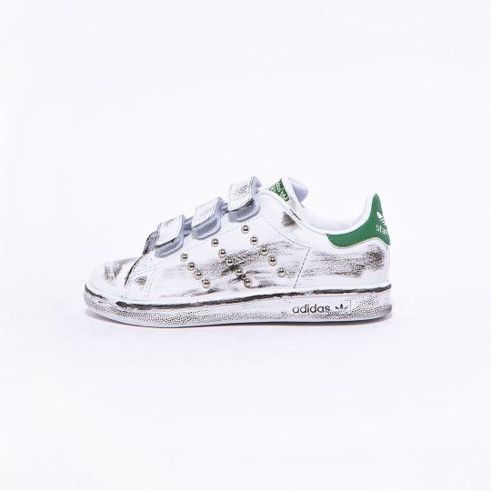 Adidas Stan Smith Strap Dirty Studs Kid