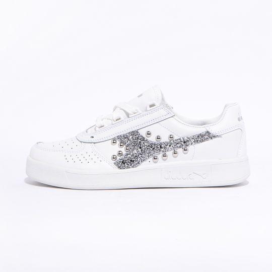 diadora elite glitter silver xx