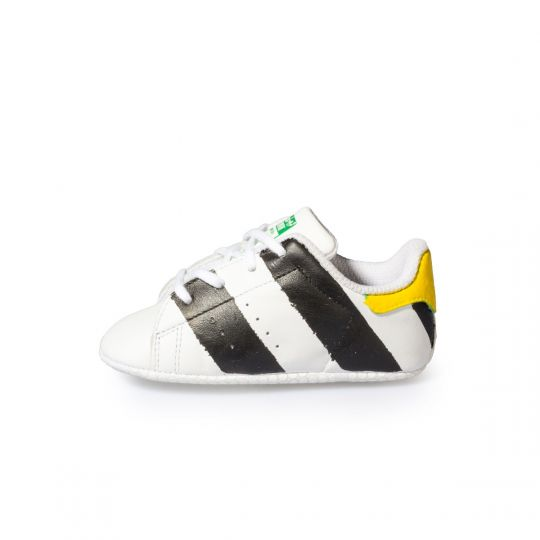 STAN SMITH BLACK PAINTED CULLA XX