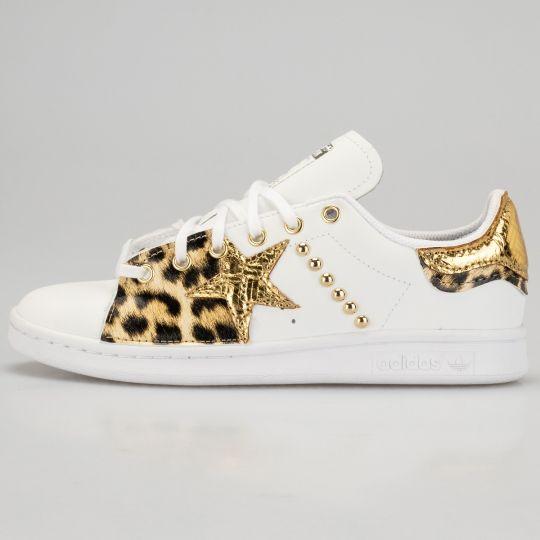 Adidas Stan Smith Dowel Animalier Gold
