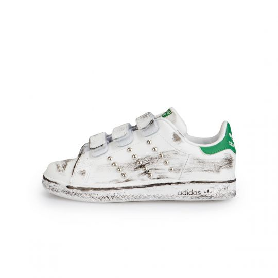 Adidas Stan Smith Strap Dirty Studs Kid