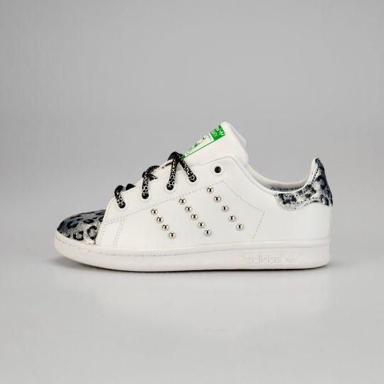 Adidas Stan Smith Tip Silver Reflex Kid xx