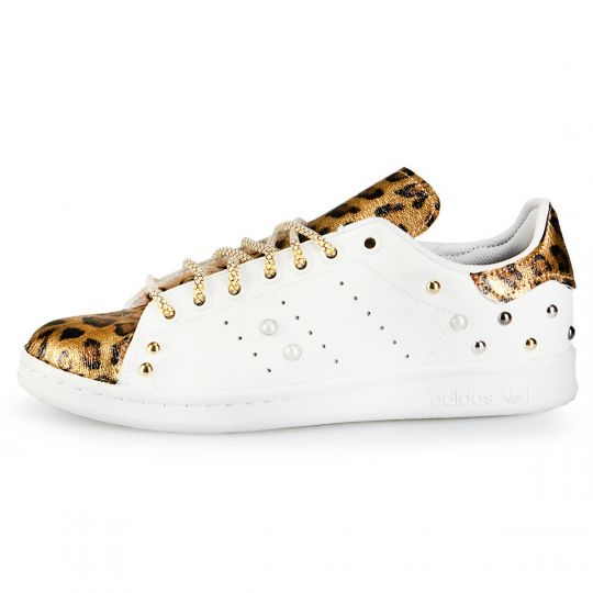 ADIDAS STAN smith tongue GOLD REFLEX