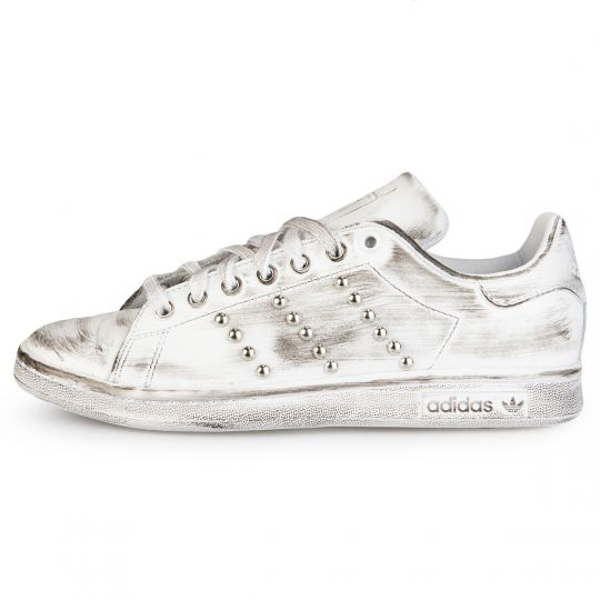 Adidas Stan Smith White Dirty Studs
