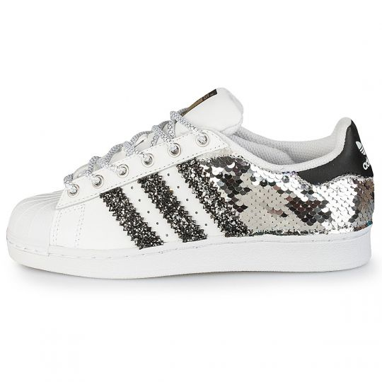 adidas superstar back glitter paillettes