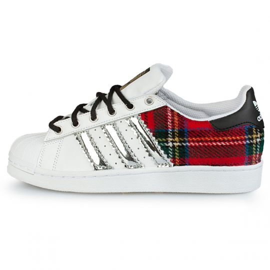 adidas superstar back tartan vinyl
