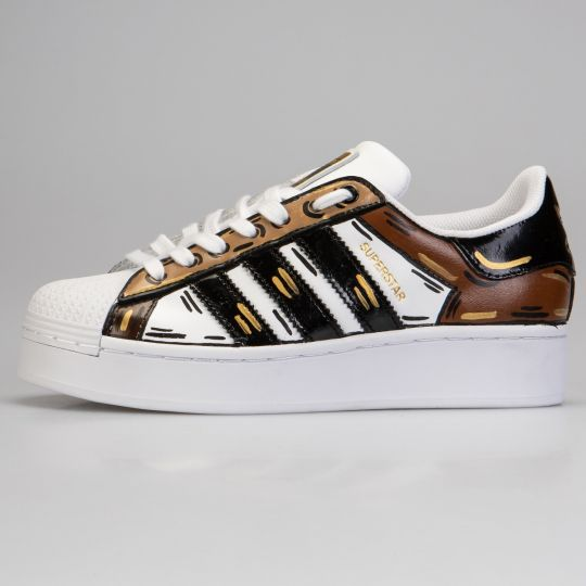 Adidas Superstar Cosplay Bold Gold Platform
