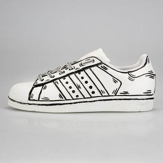 Adidas Superstar Cosplay Conan