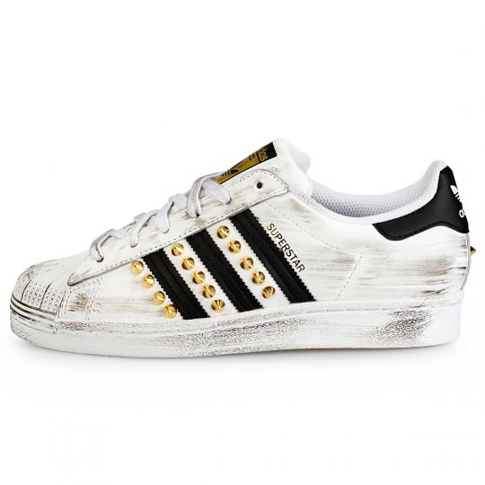 ADIDAS SUPERSTAR ENEMY GOLD POINT