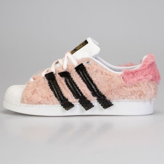Adidas Superstar Fluffy Old Rose