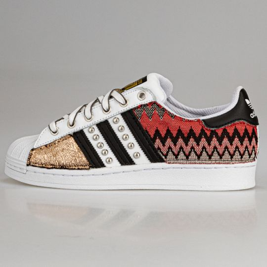 Adidas Superstar IMLS BLACK Jacquard