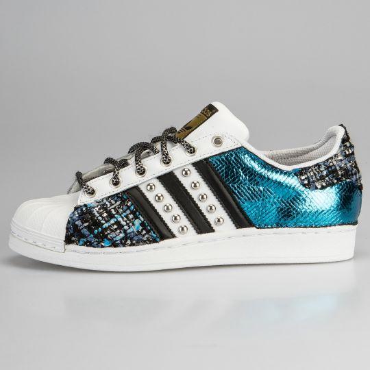 Adidas Superstar Imls Couture Blu Reflex