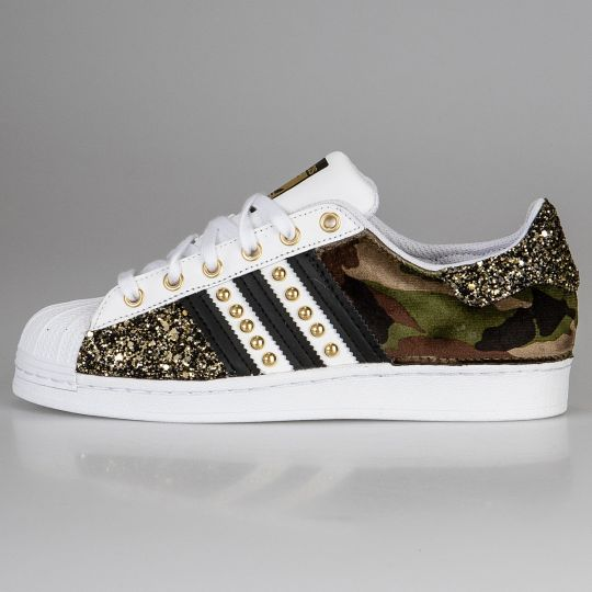Adidas Superstar Imls Space Camo Gold