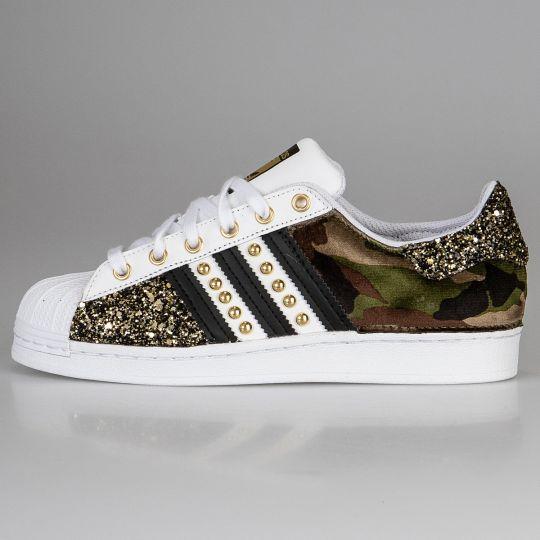 Adidas Superstar Imls Space Camo Gold