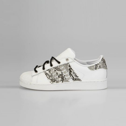 Adidas Superstar Laces B/W snk Kid