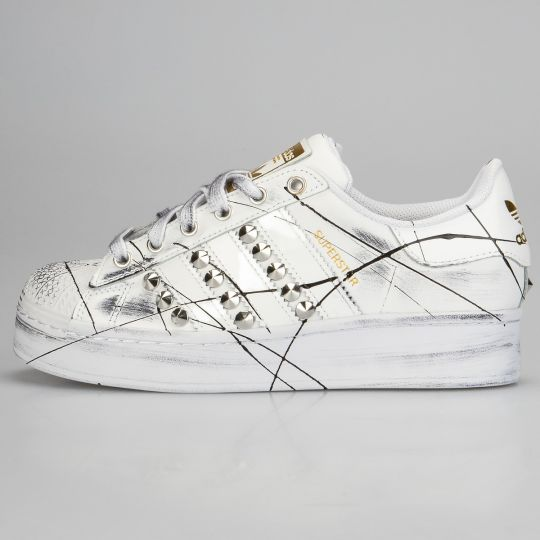 Adidas Superstar Mono Bold Enemy Platform