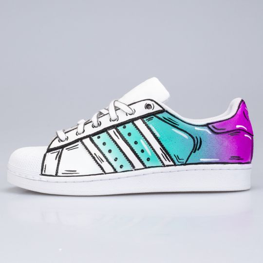 Adidas Superstar Sea Aero Graphic