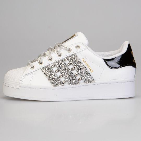 Adidas Superstar Wu-tang Bold Silver Platform