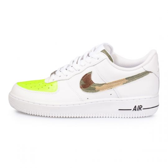 Nike low camo fluo yellow