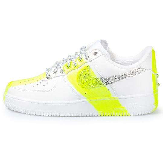 AIR FORCE LOW GLITTER DRIP fluo  XX