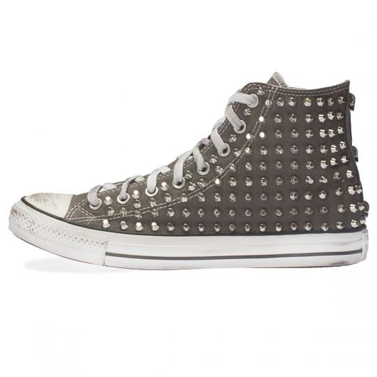 all star GREY CHARCOAL CUT