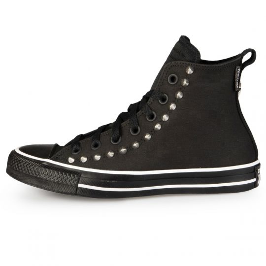 All Star Hi Black Back Studs Techlife Pelle