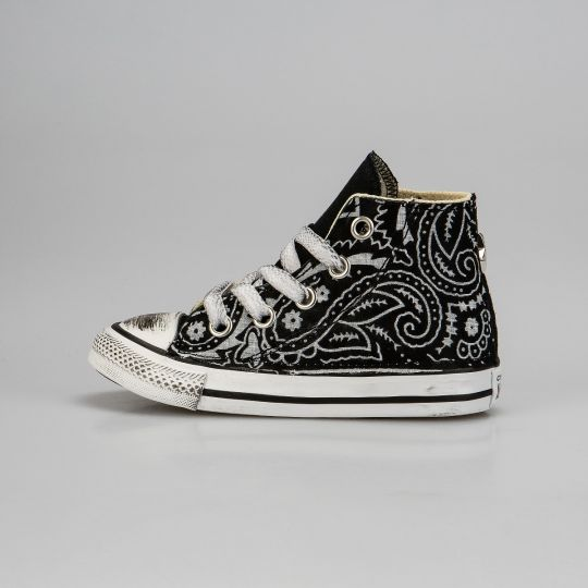 All Star Hi Black Bandana Kid