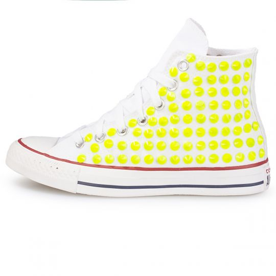 all star hi fluo neon cone