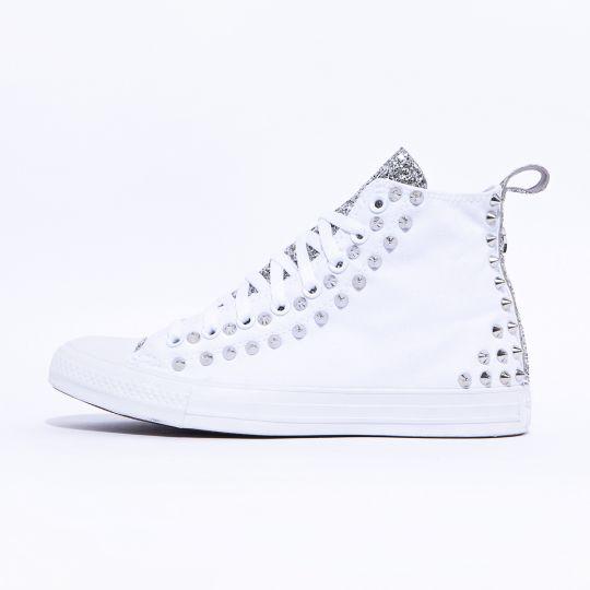 all star hi mono runaways back white