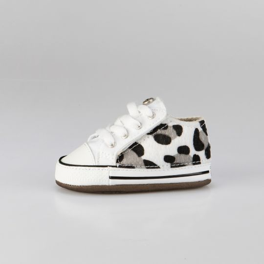 All Star Hi White Leo Savage Zebra Culla