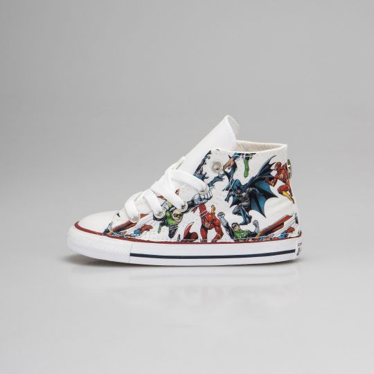 All Star Hi White Super Hero