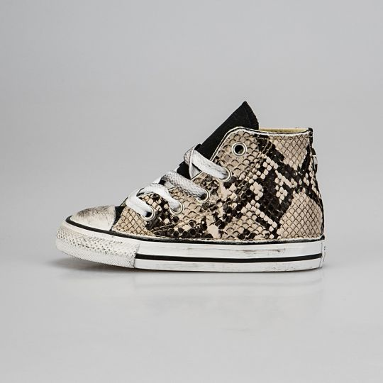 All Star Hi Black Pytho Kid