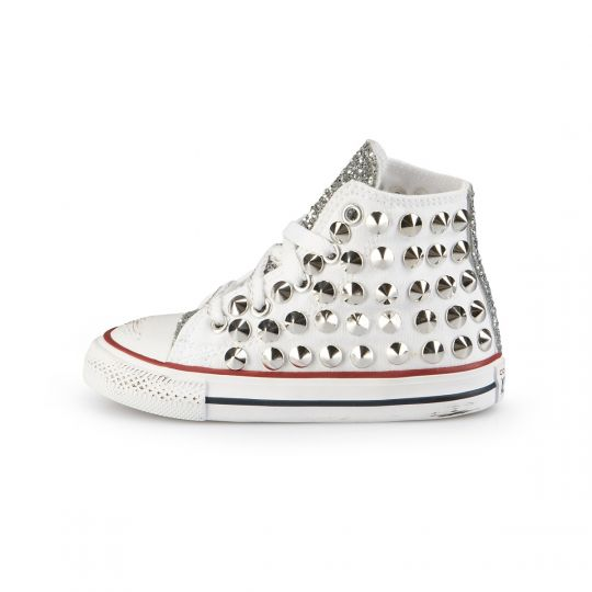 ALL STAR HI RUNAWAYS CONE WHITE KID