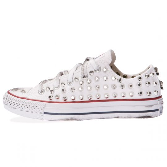 all star WHITE LOW CUT