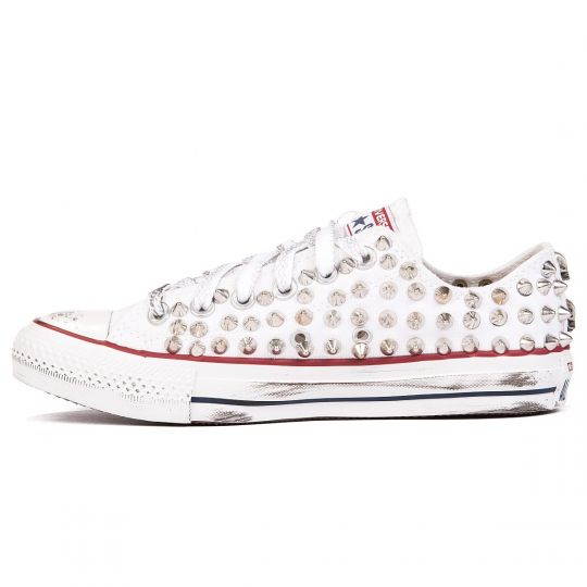 all star WHITE LOW POINT