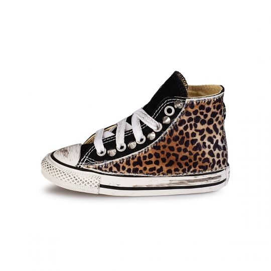 All star hi BLACK LEO cheet Kid XX