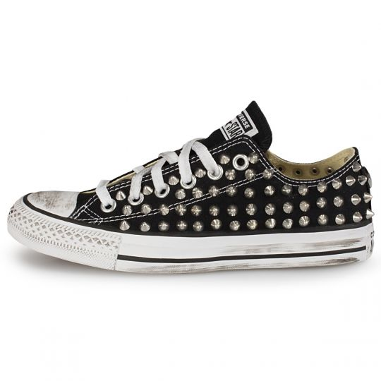 all star low BLACK POINT