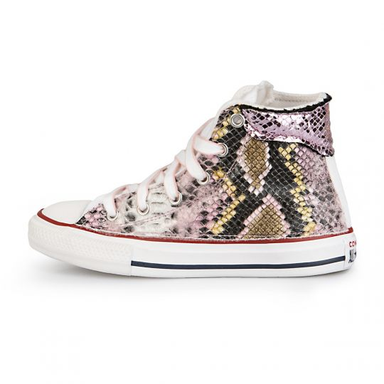 All Star White De-la Mirror Pytho 27-34