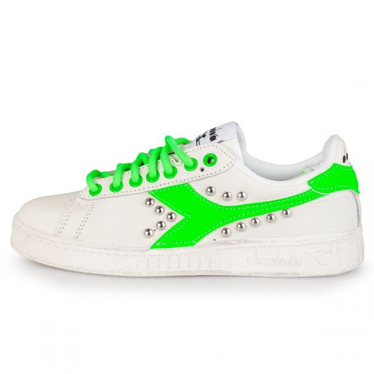 DIADORA GAME FLUO green STUDS