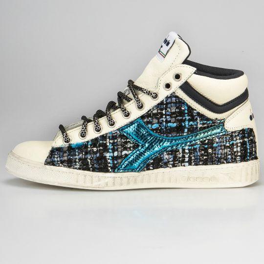 Diadora Game Hi Stripe Couture Blu Reflex