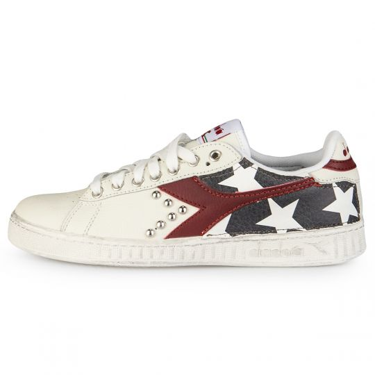Diadora Game Red Stars Black