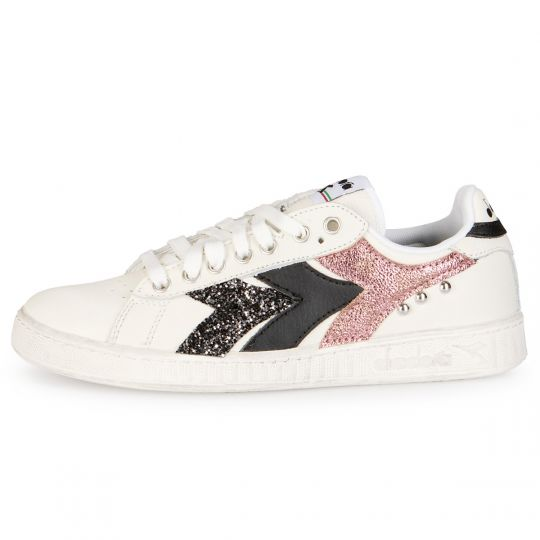 DIADORA GAME SWOOSHY DARK ROSE