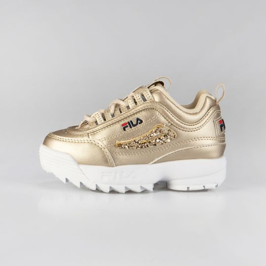 Fila Disruptor II Gold Runaways Kid