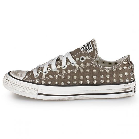 all star GREY CHARCOAL LOW POINT xx